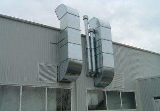 Tubulatura rectangulara ventilatie